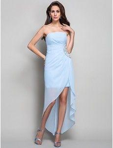 Vestidos en color azul cielo  9