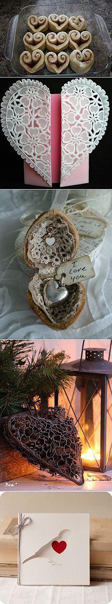 С мира по нитке...идеи ко дню Святого Валентина.