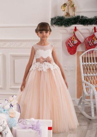 Красивые платья для девочек в пол
