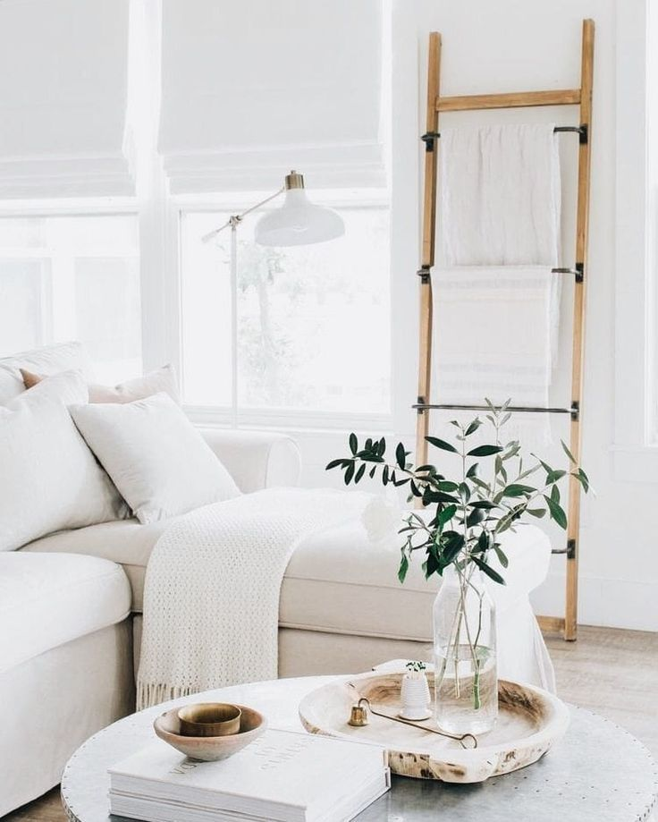 bright, airy living room neutral colours
