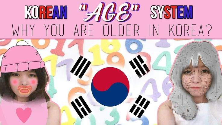 Korean Age System-Why you are older in Korea?