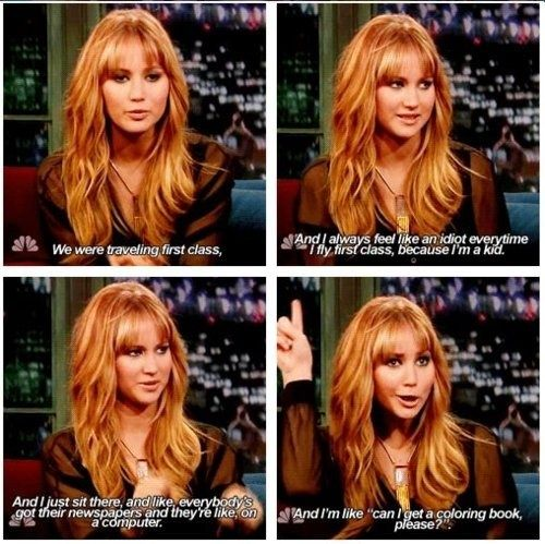 awesomely honest Jennifer Lawrence quotes