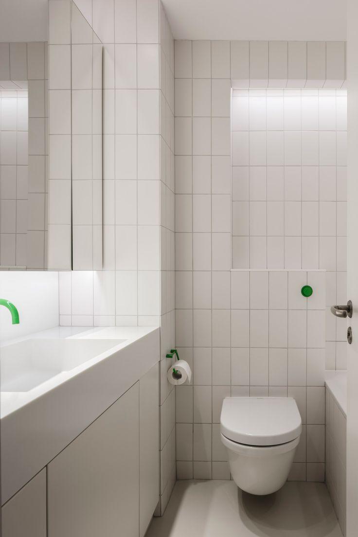 Emulsion transforms apartment in London's brutalist Barbican Estate