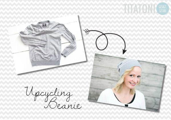 Upcycling DIY: Mütze aus Pullover nähen!