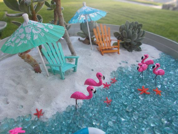 Estrella de mar playa de miniatura Jardín de por FairyElements