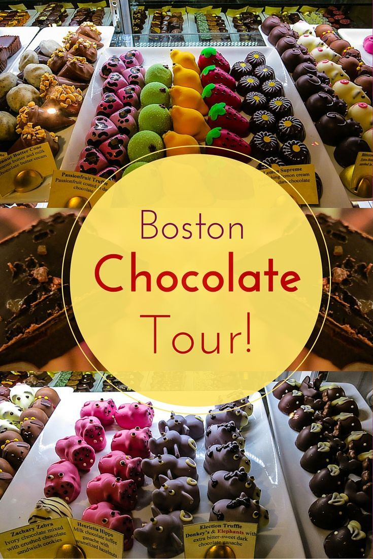 Love sweets? Check out these delicious photos from a chocolate tour in Boston, MA! If you're planning travel to Massachusetts, it's a great addition to your itinerary.