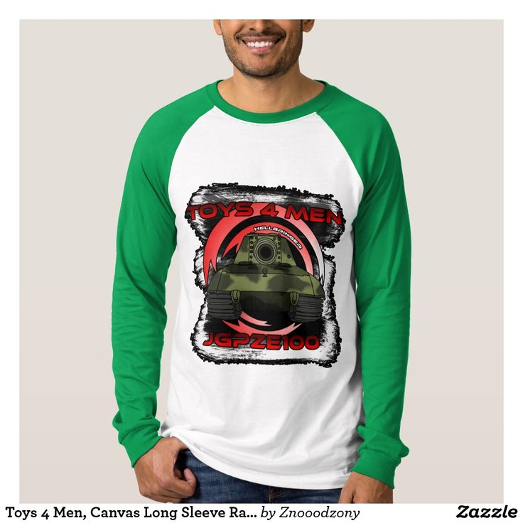 Toys 4 Men, Canvas Long Sleeve Raglan T-Shirt