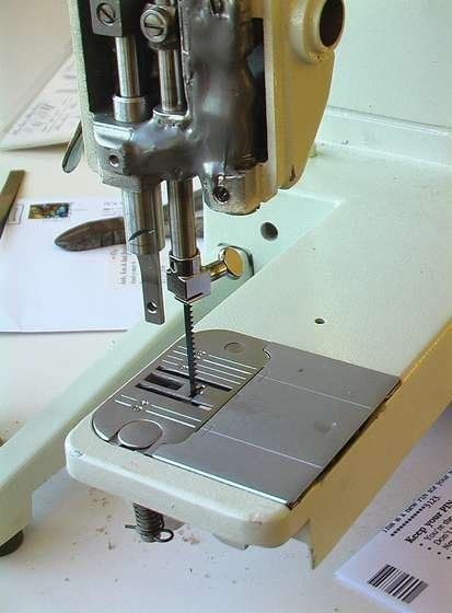 Sewing Machine Converted to Scroll Saw | Make: DIY Projects, How-Tos, Electronics, Crafts and Ideas for Makers | MAKE: Craft
