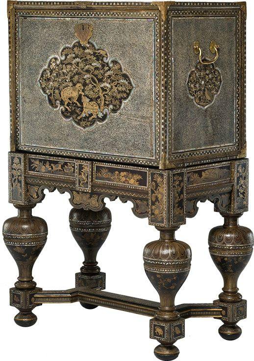 Cabinet on stand, 17th century. Peabody Essex Museum, Salem, USA. Courtesy the Rijksmuseum