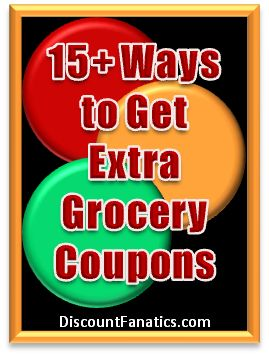 List of 25+ Ways of how and where to Get Extra Sunday Paper Coupons & Sunday Coupon Inserts for Free - Sunday Coupon Preview - Free Grocery Coupons!