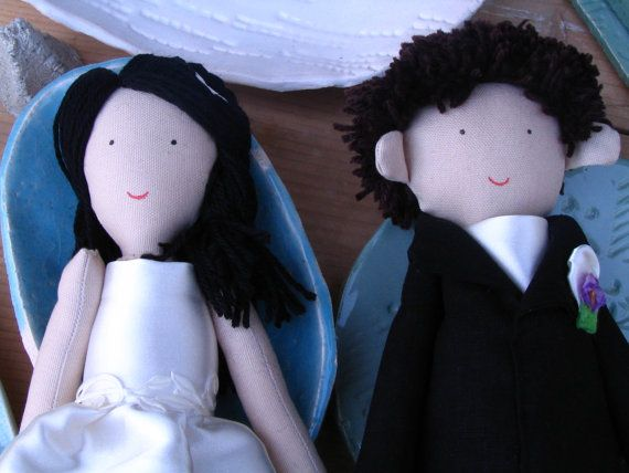Custom personalized wedding dolls rag dolls bride and groom rag doll by apacukababa https://www.facebook.com/ApaCukababa  #wedding #bride #groom #personalizeddoll #weddinginspirations #ragdoll #weddinggift #justmarried #lovers #love