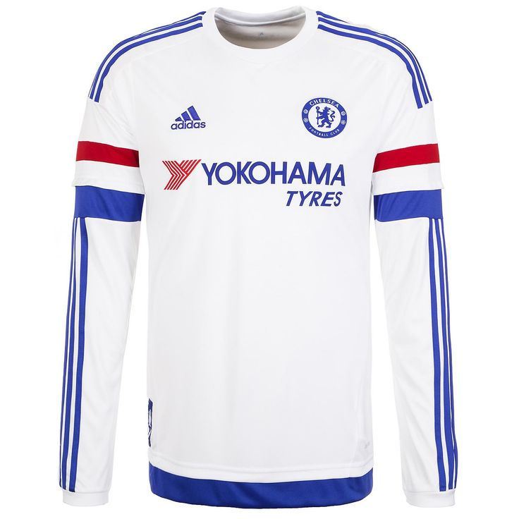 ... FC Chelsea Trikot Away 20152016 Herren Das langärmelige Auswärtstrikot  zur Saison 20152016 Chelsea 201617 White ... 5d31fce25