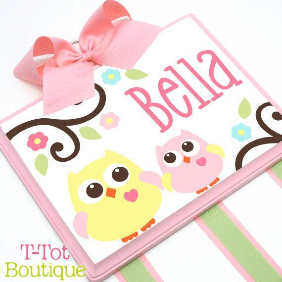 NUEVO diseño - Custom pintada a mano Boutique para niños pelo arco soporte personalizado m2m niños línea Dena Happi Tree - grande