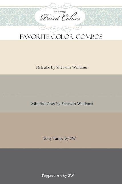 How to bring grey into  Taupe avec du blanc et du crème. et des touche de couleurs vives :)
