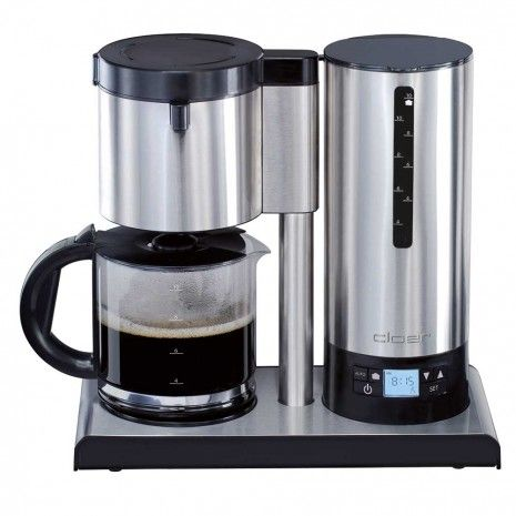 Cloer Stainless Steel Coffee Maker 10 Cup ?Temperature stabilization? (Patented) Coffee Lover ...