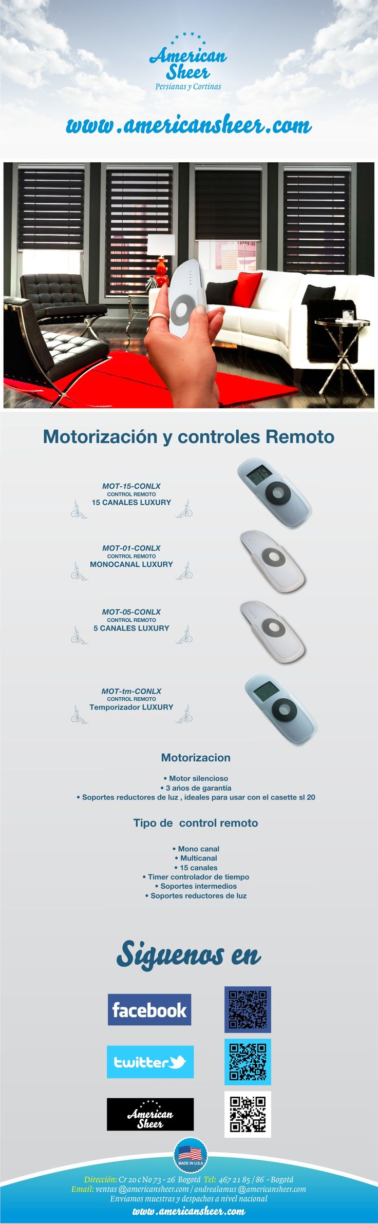 opciones de motorizacion
