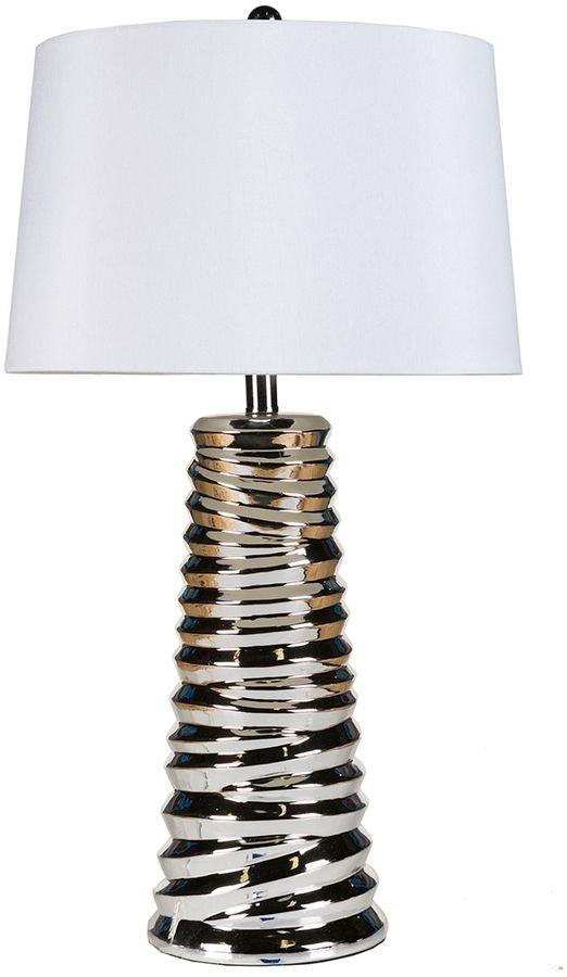 Surya Chrome Table Lamp