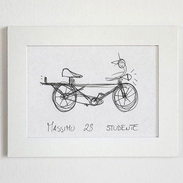 O designer italiano Gianluca Gimini vem, há alguns anos, pedindo que seus amigos desenhem as bicicletas que têm na memória para que ele as reproduza em imagens realistas 3D. Com a brincadeira, Gian…