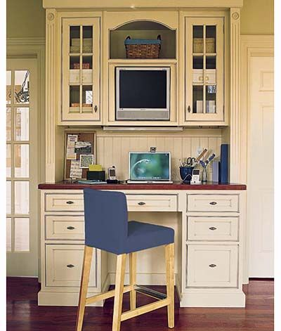 25 best ideas about kitchen office nook on pinterest for Kitchen office nook