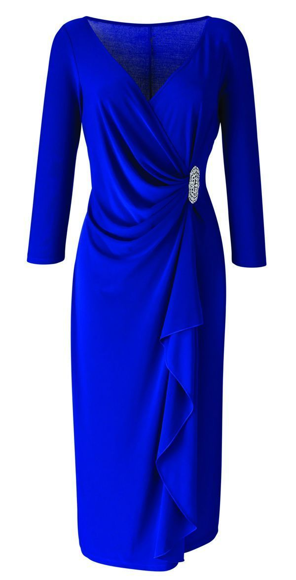 Plus size party dresses for baby boomer women over 40, 50, 60 - read article by clicking http://boomerinas.com/2012/10/holiday-party-dresses-christmas-red-not-only-choice/ #dressesforwomen #women'sfashionforover60's #women'sfashionforover50
