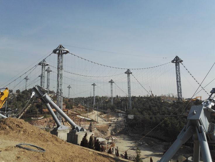 LAVIZAN BIRD GARDEN Location: Lavizan-Tehran-Iran Under Construction Area: 62.000 sqm Client: District 4 of Tehran Municipality Scope of works: Consulting / Architectural Design / Detail Design Structural Engineer: Maffeis Engineering spa(maffeis.it) Mesh Supplier: Rossi TTM  Cable Supplier: Redaelli     #dibats #tensilestructure #architecture #سازه_های_پارچه_ای_دیبا #ديبا