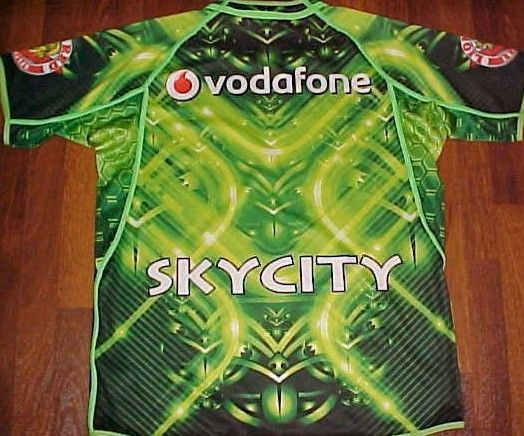 Canterbury NRL National Rugby League Vodafone Sky City Green Official Jersey 2XL #NRL