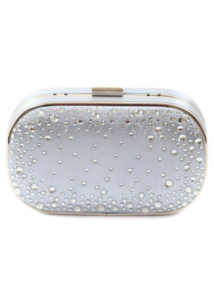 A classic silver clutch bag always comes in handy and this LYDC London clutch bag is perfect for those special occasions.
