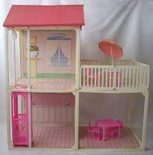My very first barbie house. Came with it's very own pink elevator. Thank you Sinterklaas!