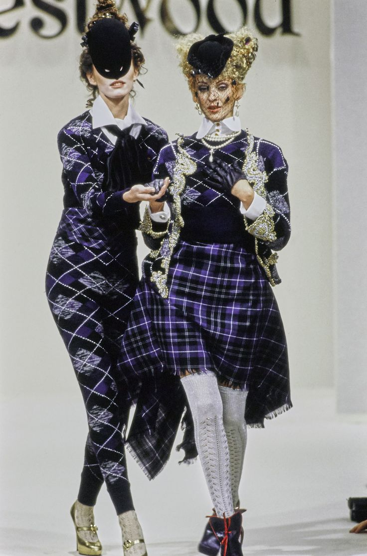 Andreas Kronthaler for Vivienne Westwood Fall 1994 Ready-to-Wear Fashion Show