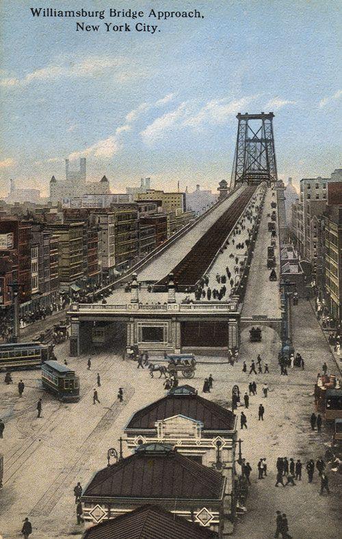 Williamsburg Bridge Roach New York City Opened Dec 19 1903 As It Was In 2019 Manhattan