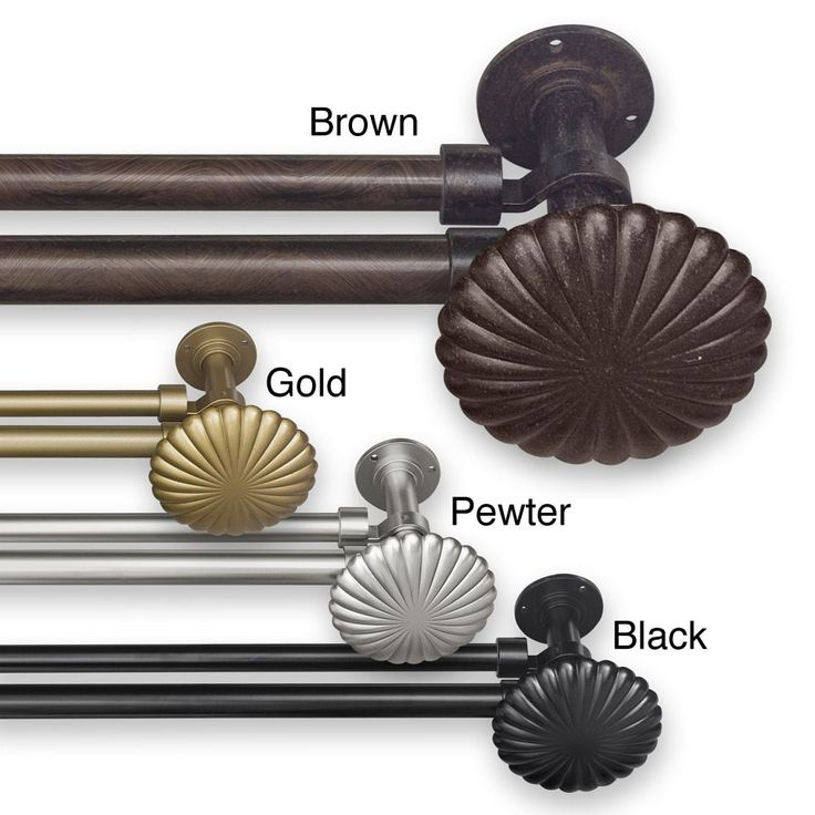 Add An Elegant Touch To Your Home Decor With This Unique Window Hardware Rod  Set. This Set Features Antique Inspired Style And Metal Construction.