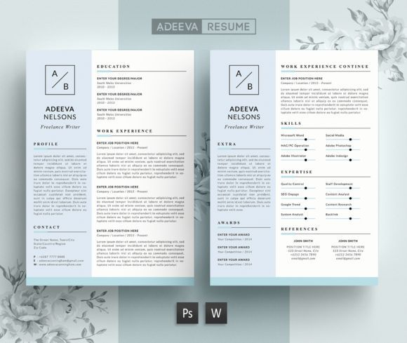 7 best Ande Luxxe Resume Template images on Pinterest Resume - text resume template