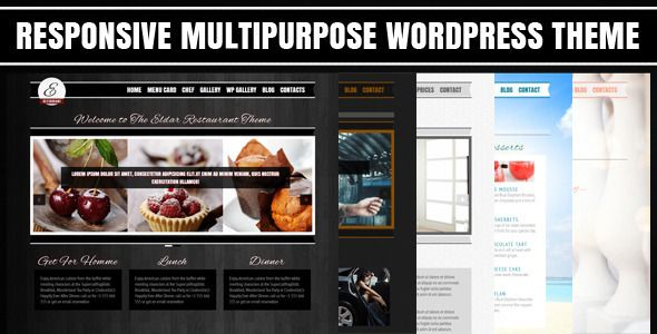 Eldar - Responsive Multipurpose WordPress Theme