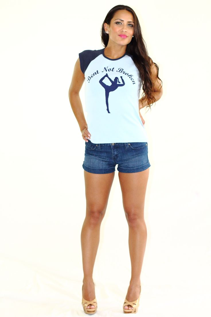 Bent Not Broken Raglan (Blue) - $25.00 | Sizes: S, M, L, XL