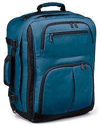 Rick Steves Convertible Carry-On - converts from backpack to suitcase while conforming to airline carry-on restrictions.  $99.99