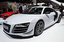 Audi R8 The 2014 Audi R8 Coupe blends explosive performance and an exotic presence. An optional quick-shifting, seven-speed Audi S tronic® transmission and Audi quattro® all-wheel drive deliver power to the road. And low slung sport seats and a flat-bottom steering wheel give you that track-ready feeling every day. This is performance engineered to its fullest.