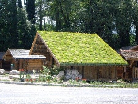 Ecolor Green: hellende groene daken van ETERNIT
