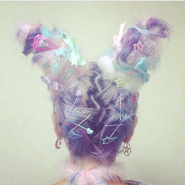 Eccentric hair via @missmetaverse www.futuristmm.com