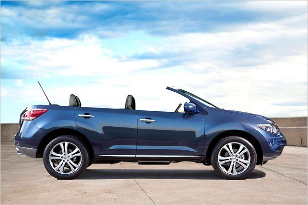 Nissan Murano Cross Cabriolet SUV Side View