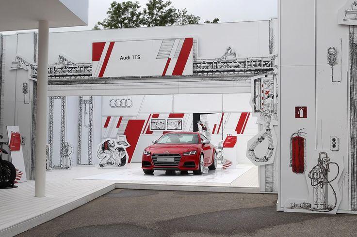 Audi - Wörthersee Treffen 2014 | Schmidhuber | Exhibition Design
