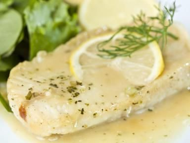 Try Lemon Beurre Blanc Sauce with Chicken or Fish: White Fish Fillet in lemon sauce