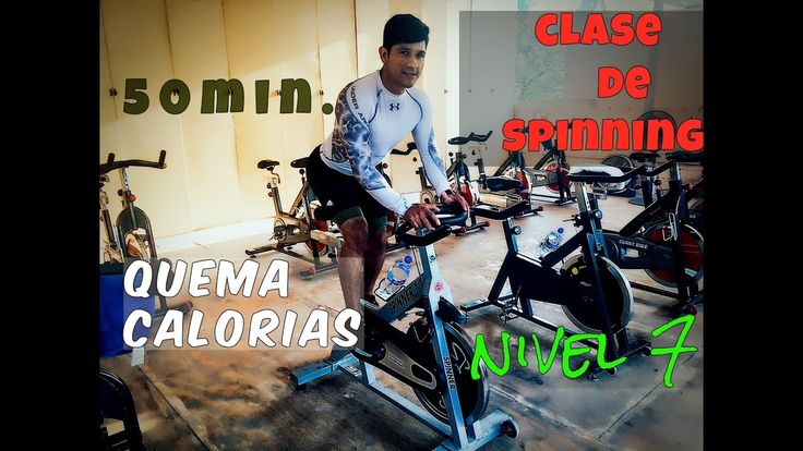 Clases de spinning 7 50 min para refirmar gl teos y for Clases de spinning