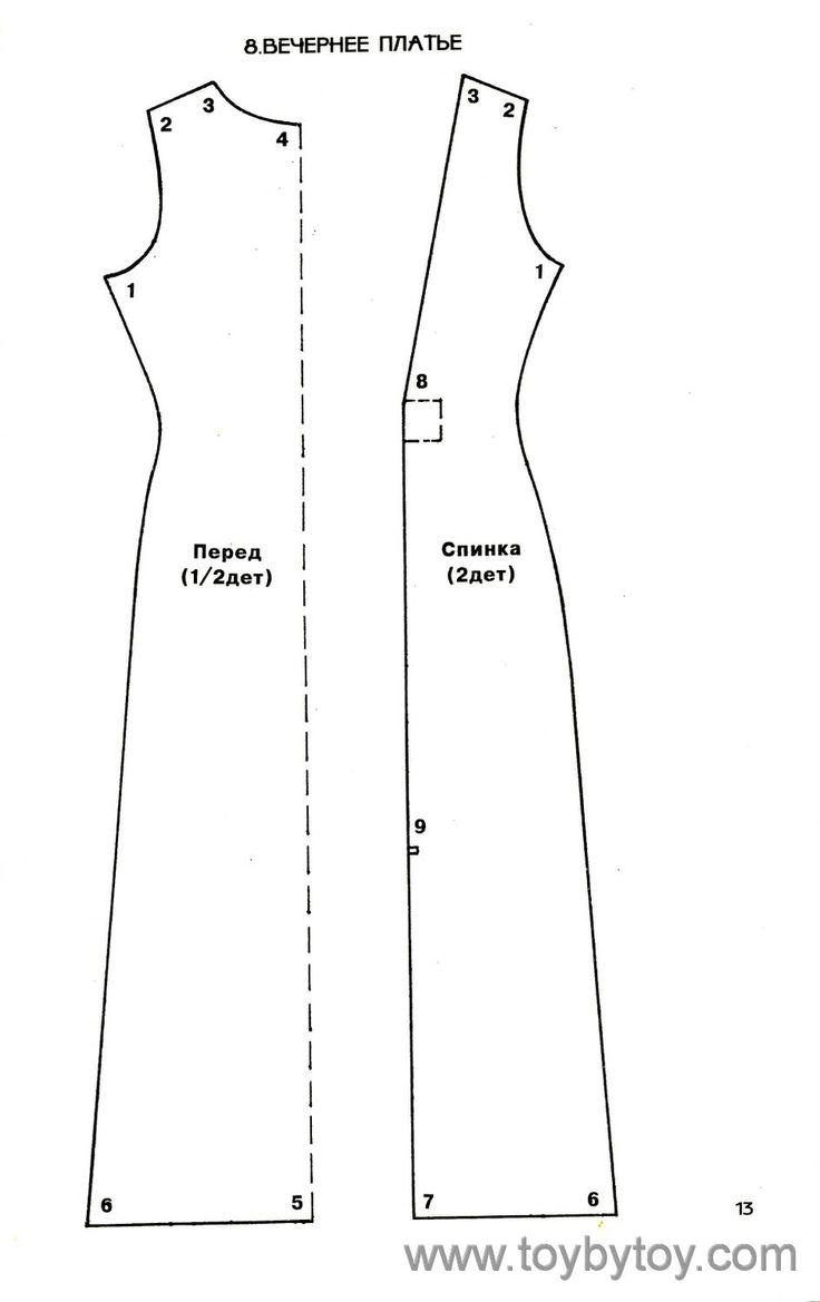 28 best платья для пухл images on Pinterest   Kleidung nähen, Modeln ...