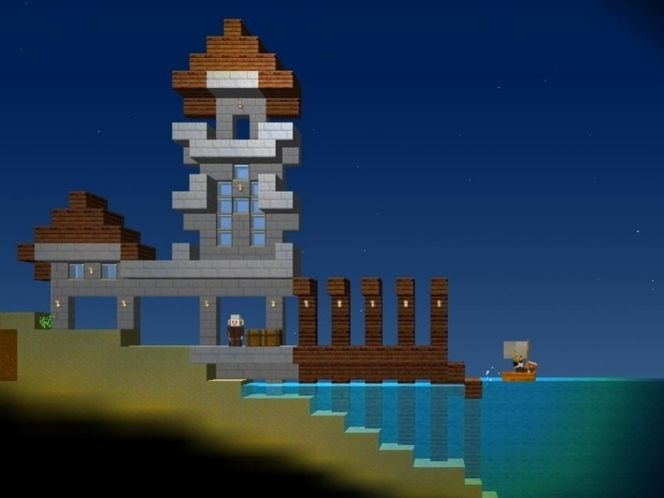 22 best blockheads images on pinterest videogames video game and dock in blockheads the pagoda styling is charming the frivolous use of castle towers reminds me of boldt castles follies on heart island gumiabroncs Gallery