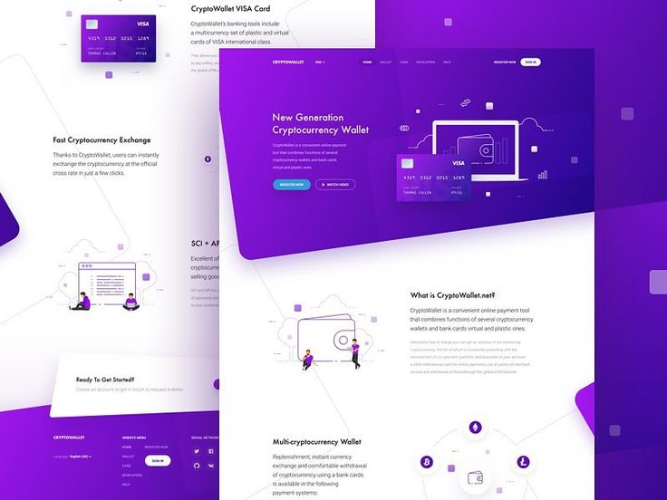 CryptoWallet MainPage by @anton_avilov  #designer #top #landingpage #brandidentity #brand #design #uiux #ui #ux #inspiration #web #dribbble #behance #website #uidesign #uxdesign #graphicdesign #trending #entrepreneur #colors #concept #illustrator #uzersco #typography #photoshop #sketch #app #mobile #startup #illustration