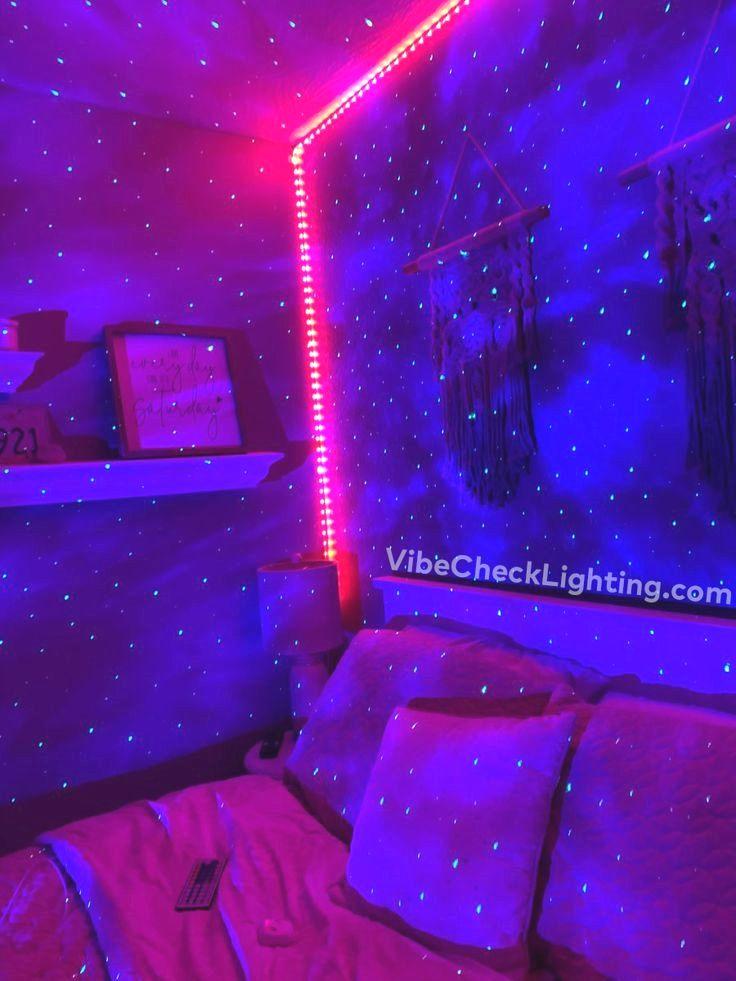 Tumblr Room Aesthetic See What Is Trending Now On Tiktok Neon Room Room Ideas Bedroom Neon Bedroom