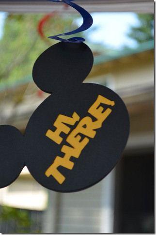 Mickey spiral decoration