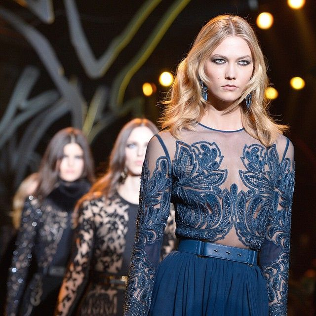 Every detail of Elie Saab AW15 is LOVE #PFW