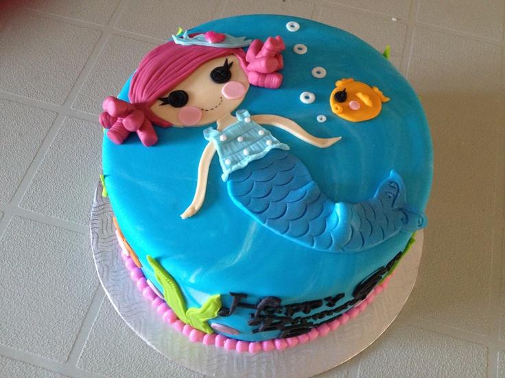 cake! Laila Birthday, Bday, Lalaloopsy Mermaid Cake, Lalaloopsy Cake ...