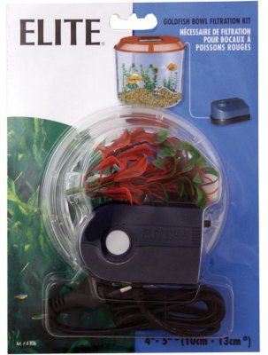 Dette er en super luftpumpe med filter. Passer best i små akvarier, gullfiskboller og kampfisk akvarier. Inneholder pumpe, luftslange, bunnfilter og en plante.